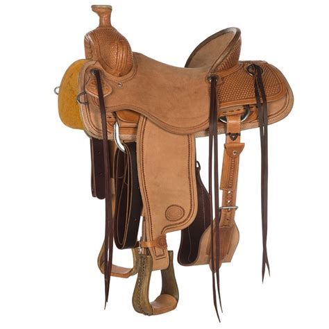 saddle nrs ranch young olin saddles series competitor roping horse amazon