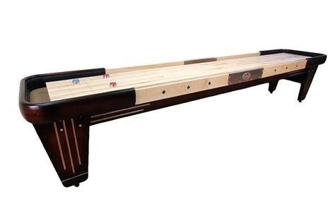 12 ft shuffleboard table 12 foot rock ola shuffleboard table mcclure tables