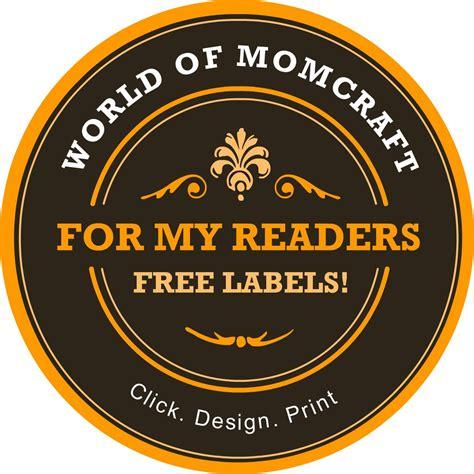 custom mason jar label maker world  momcraft