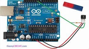 Hall Effect Sensor Arduino Program
