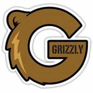 Grizzly Griptape Grizzly Griptape G-Logo Sticker