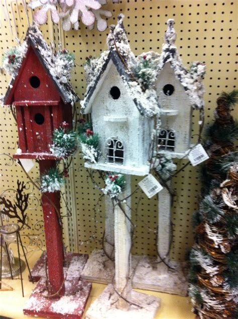 birdhouse christmas ornaments images  pinterest