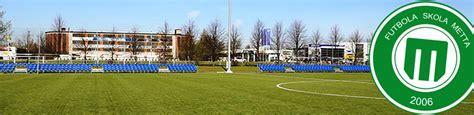 Hanzas vidusskolas futbola laukums, home to FS Metta ...
