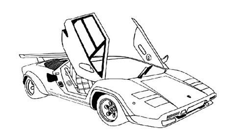2015 Lamborghini Aventador Coloring Car Pages Page