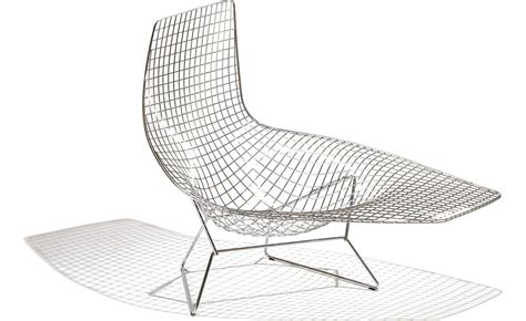 chaises knoll bertoia asymmetric chaise lounge hivemodern com