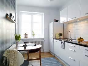 Small Apartment Kitchen Design Ideas White Small Apartment Kitchen Interior Design Ideas