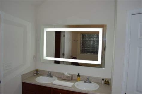 lighted vanity mirror led mam commercial grade