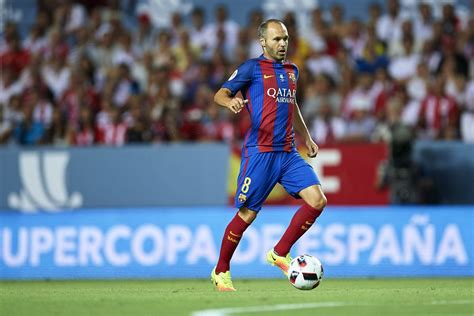barcelona announce injury reports  andres iniesta