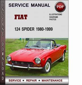 Fiat 124 Spider 1980-1999 Factory Service Repair Manual Pdf