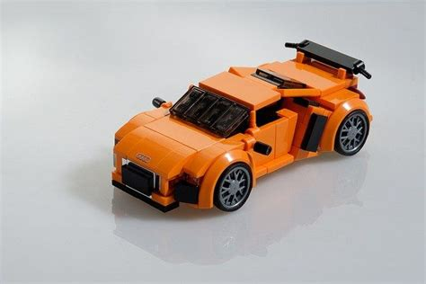 lego audi r8 vorsprung durch technik the brothers brick lego lego lego r8 v10 plus