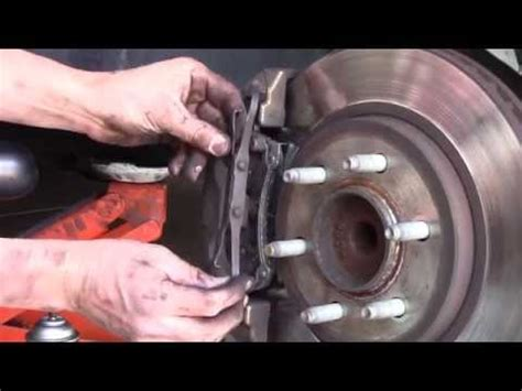 ford expedition rear brake removal   replace
