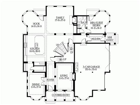 house plans with media room eplans craftsman house plan media room kitchen deck