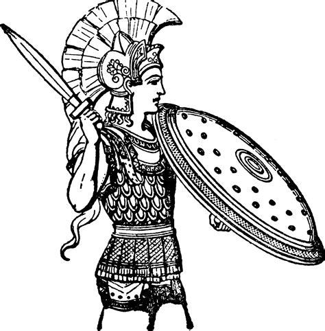 greek armor art armor clipart