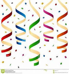Confetti And Streamers Clipart - Clipart Suggest