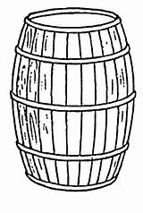 Barril Fass Barriles Botte Malvorlage Misti Colorare Tudodesenhos sketch template