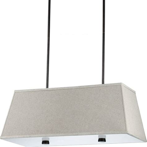 dayna large 4 light burnt rectangle shade pendant