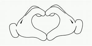 Mickey mouse hands ina heart(:   Types of Tats I'd like to ...