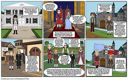 Revolution French Events Leading Storyboard Whap Storyboards