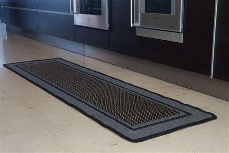 slip grey beige border design rug rubber backed flat