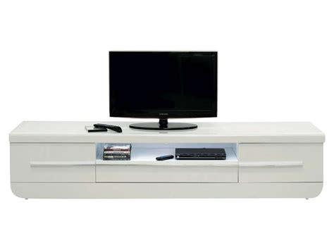 Meuble Escalier Blanc Conforama by Meuble Tv Floyd Coloris Blanc Conforama