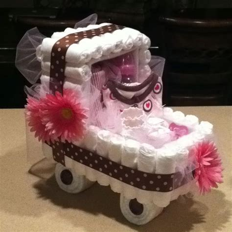 ive mastered  tiered diaper cake lets