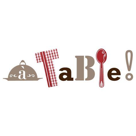 sticker de cuisine sticker quot a table quot pour cuisine en vente sur sticker 39 s