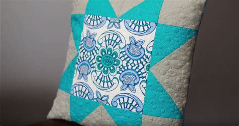 quilted pillow cover favequiltscom
