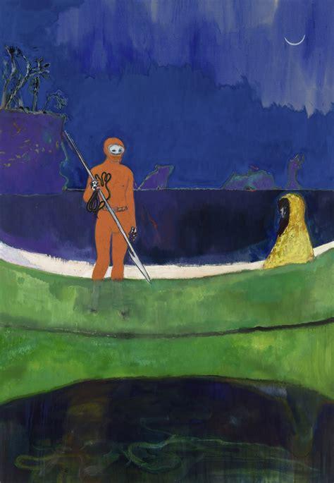 peter doig paints portals  mythic dimensions