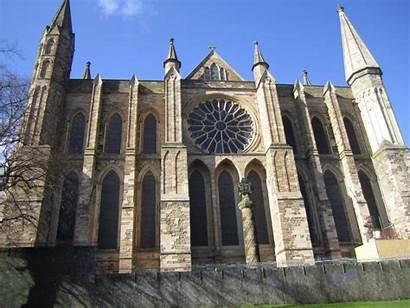 Durham Cathedral Norman Architecture England Architects Zone