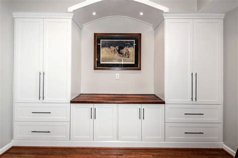 solid wood entertainment center with fireplace custom built in counter top wall unit by design by jeff