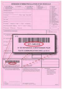 Demande D Immatriculation Véhicule : aanvraagformulier ~ Gottalentnigeria.com Avis de Voitures