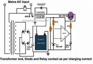 Automatic Car Battery Charger Circuit Diagram 6v 4 5ah Battery Charger Circuit Circuit Diagram