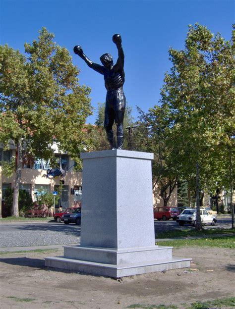 Rocky Statue In Zitiste