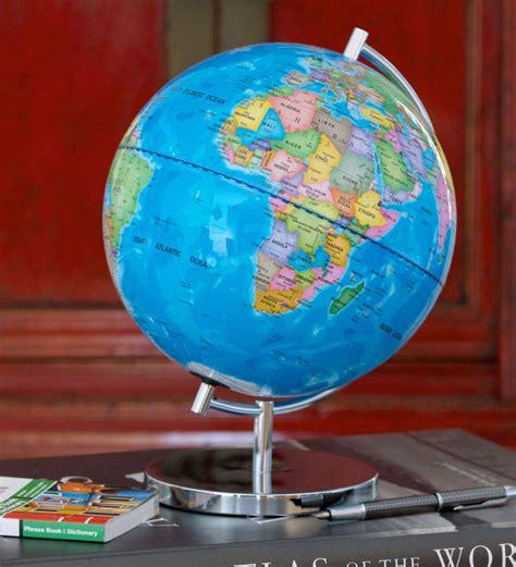 light up globe light up globe of the world by globee notonthehighstreet