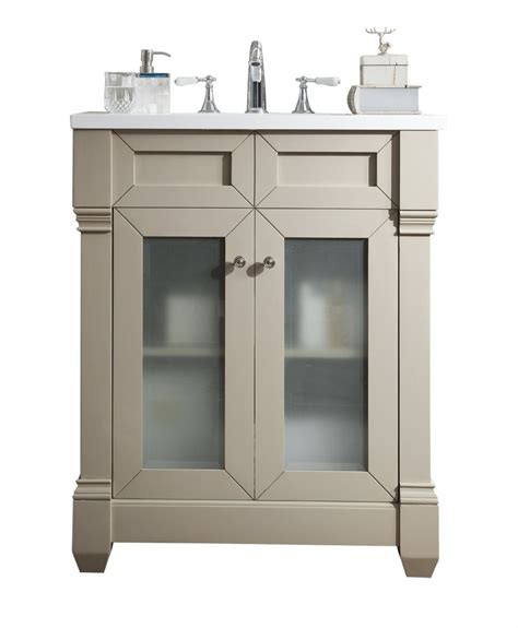 30 Inch Bathroom Vanity With Sink by 30 Inch Single Sink Bathroom Vanity Sea Gull Finish With