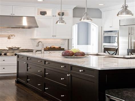white kitchen with black island white kitchen cabinets black island