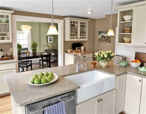 Open Kitchen Dining Room Color Ideas House Decor Picture