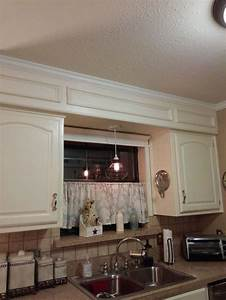 update from outdated soffits to usable space hometalk With kitchen cabinets lowes with dress lily wall art
