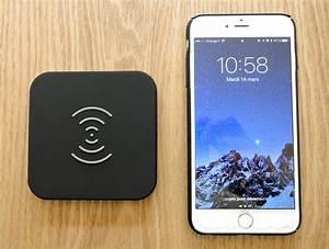 Recharge Telephone Sans Fil : test de la recharge iphone sans fil compatible qi propos e par la marque choetech ~ Dallasstarsshop.com Idées de Décoration