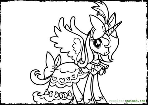Beautiful Unicorn Coloring Pages