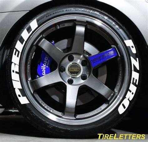 pirelli p zero white letters tire letters raised white rubber lettering pirelli p
