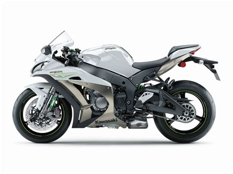 Zx10r Kawasaki by 2017 Kawasaki Zx 10r Gets Funky White Colour Scheme