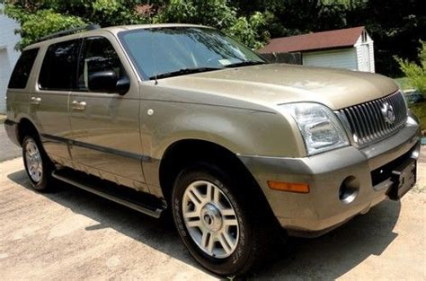 automobile air conditioning service 2003 mercury mountaineer interior lighting find used inmaculate 2003 mercury mountaineer v6 102k leather sunroof 3rd row seat in