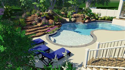 Pool Design by Inspiration In Custom Lagoon Pool Design