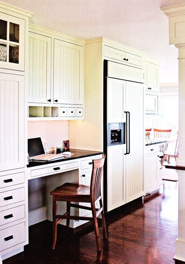 Kitchen With Desk Area by Designing Your Home Kitchen Office Desk Area