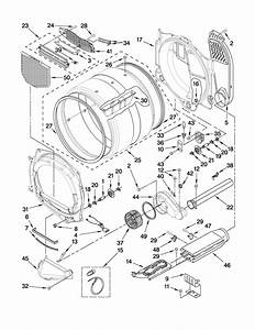Maytag Dryer  Maytag Dryer Parts Diagram