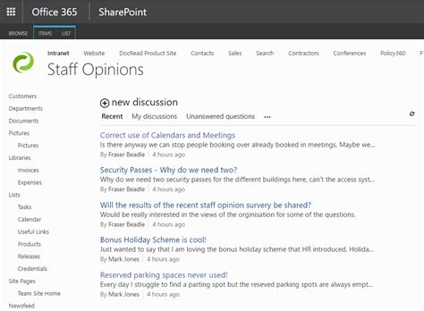 5 Tips Showing How To Use Sharepoint For Internal