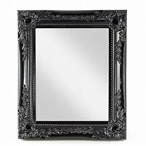 Spiegel Befestigung Wand : schwarz vintage spiegel und weitere spiegel g nstig online kaufen bei m bel garten ~ Orissabook.com Haus und Dekorationen