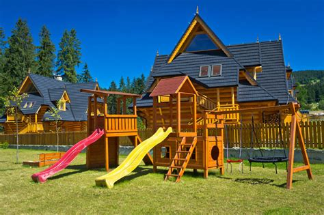 Home Playground : Amazing Backyard Playground Ideas And Photos (for The