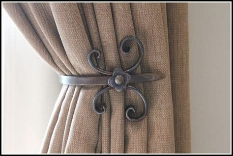 metal tie backs for drapes 1000 ideas about curtain tie backs on curtain